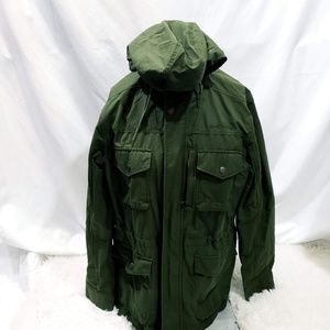 Eddie Bauer Medium Weight Hooded Jacket 			Size L